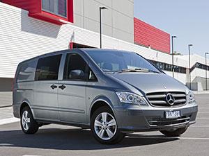 Технические характеристики Mercedes-Benz Vito
