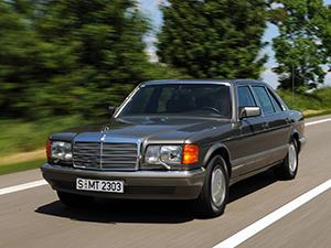 Технические характеристики Mercedes-Benz S-class 560 SEL 1985-1991 г.