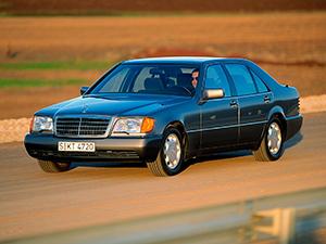 Технические характеристики Mercedes-Benz S-class 600 SE 1991-1993 г.