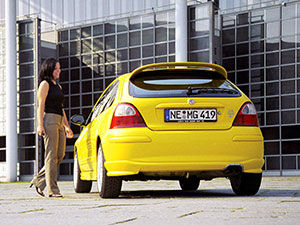 MG ZR 3 дв. хэтчбек ZR
