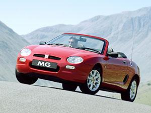 Технические характеристики MG F