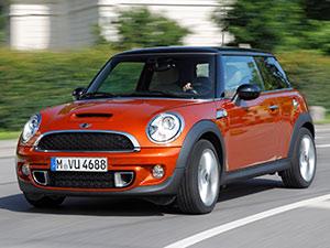 Технические характеристики Mini Cooper S John Cooper Works 2010-2013 г.