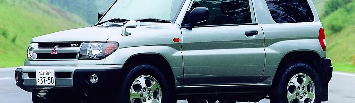 характеристика mitsubishi pajero io 1998 года