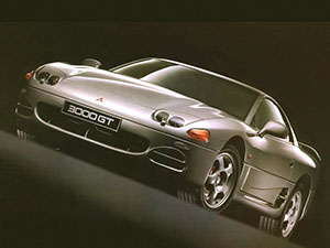 Mitsubishi 3000 GT 3 дв. купе 3000 GT