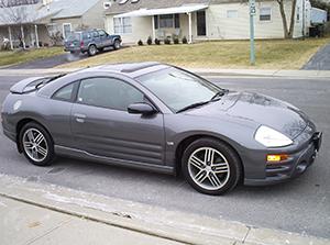Mitsubishi Eclipse 3 дв. купе Eclipse