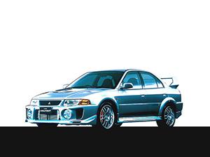 Mitsubishi Lancer Evolution 4 дв. седан Lancer Evolution V