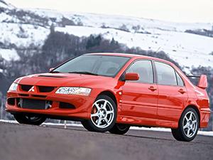 Mitsubishi Lancer Evolution 4 дв. седан Lancer Evolution VIII