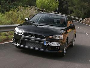 Mitsubishi Lancer Evolution 4 дв. седан Lancer Evolution X