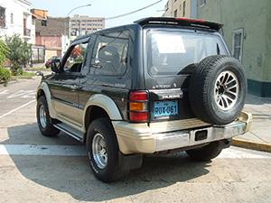 Mitsubishi Pajero 3 дв. внедорожник Pajero