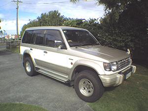 Mitsubishi Pajero 5 дв. внедорожник Pajero