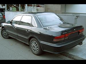 Mitsubishi Sigma 4 дв. седан Sigma