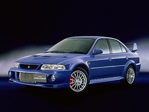 Lancer Evolution VI с 1999 по 2001