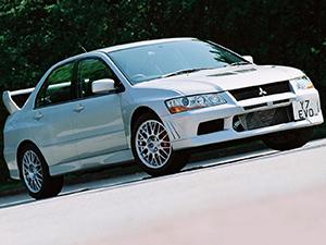 Lancer Evolution VII с 2001 по 2003
