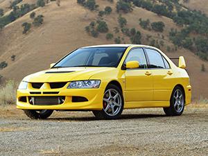 Lancer Evolution VIII с 2003 по 2005