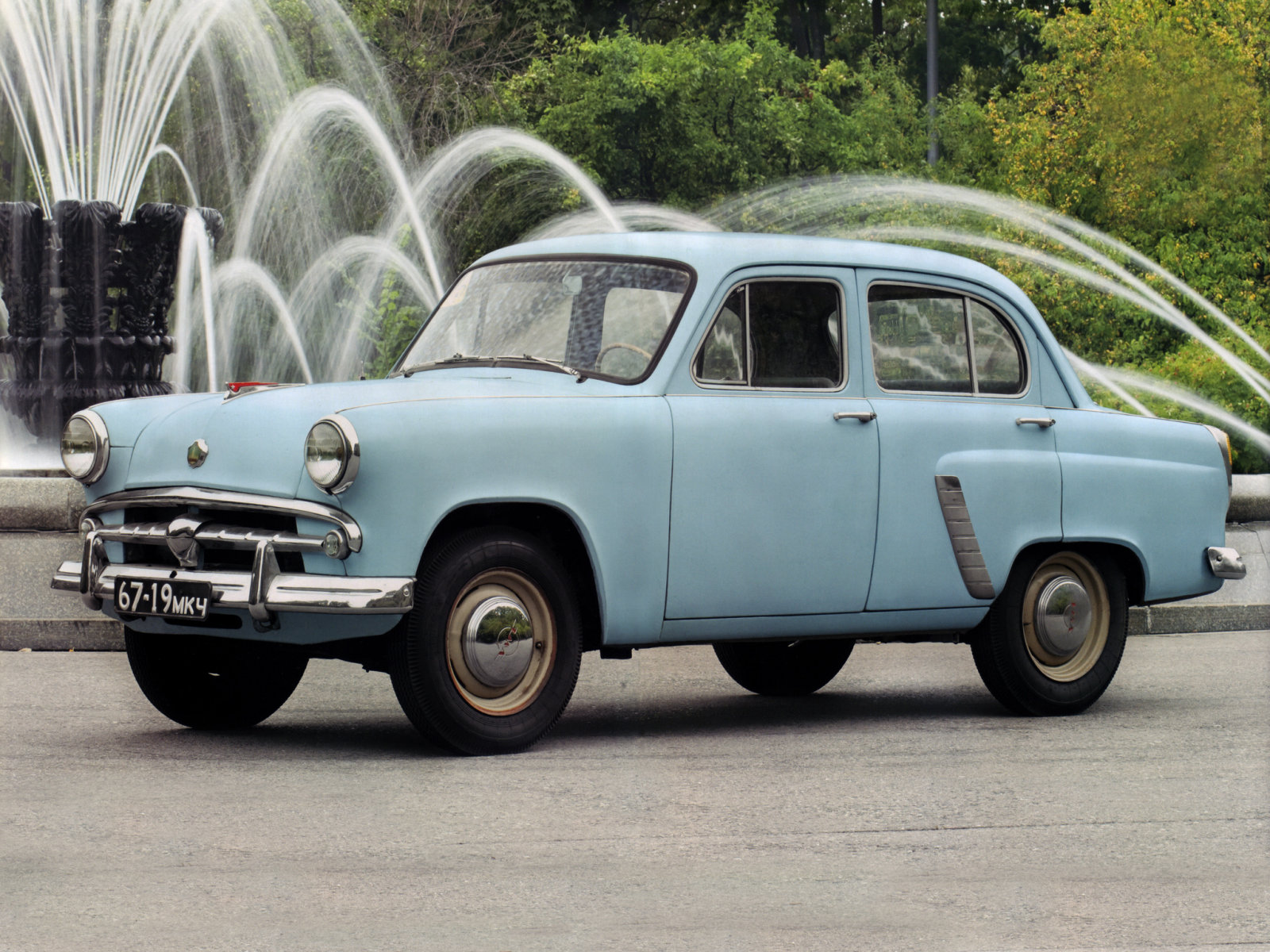 Москвич (Moskvich) 402 1956-1958 г.