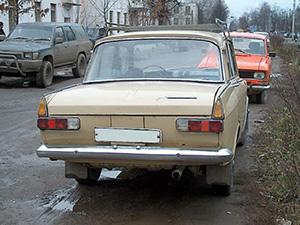 Москвич 408 4 дв. седан 408