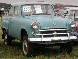 Технические характеристики Москвич 410