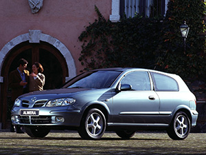 Nissan Almera 3 дв. хэтчбек N16