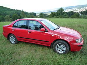 Nissan Almera 4 дв. седан N15