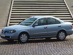 Nissan Almera 4 дв. седан N16