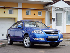 Nissan Almera 4 дв. седан B10