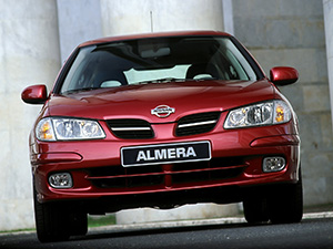 Nissan Almera 5 дв. хэтчбек N16