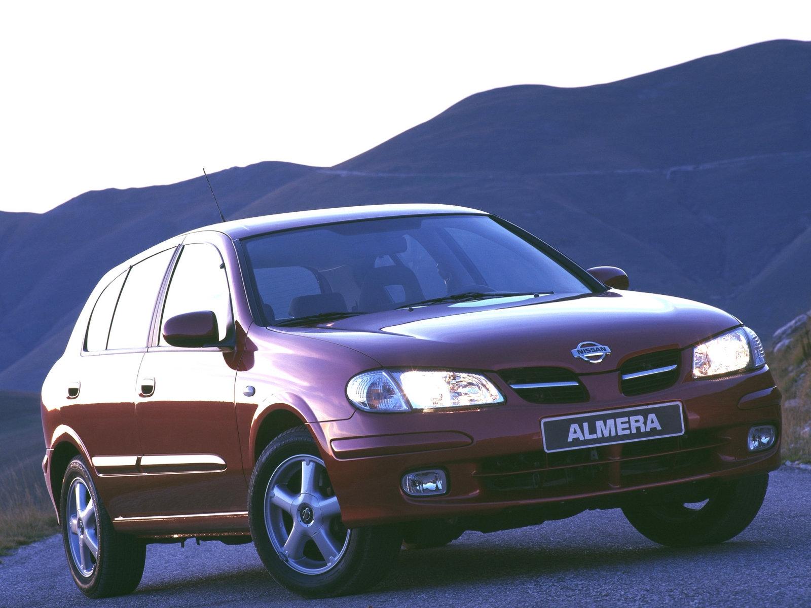 Nissan (Ниссан) Almera N16 2000-2002 г.