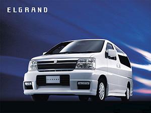 Nissan Elgrand 4 дв. минивэн Elgrand