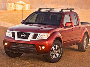 Nissan Frontier 4 дв. пикап Frontier