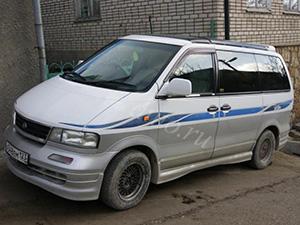 Nissan Largo 4 дв. минивэн Largo
