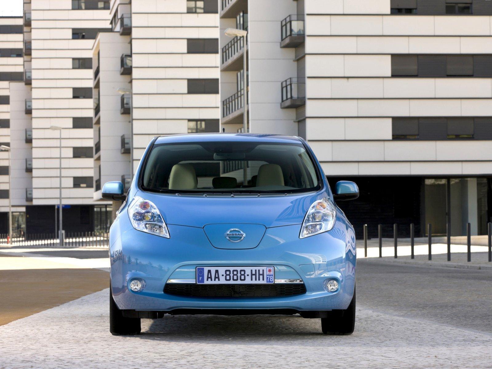 Электромобиль Nissan Leaf - ecomotors.ru