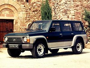 Nissan Patrol 5 дв. внедорожник Wagon