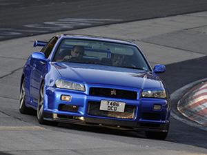 Nissan Skyline 2 дв. купе R34