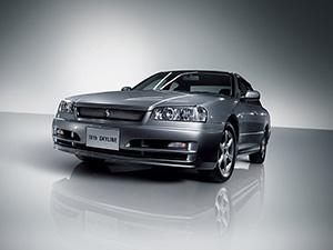 Nissan Skyline 4 дв. седан R34