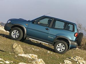 Nissan Terrano 3 дв. внедорожник Terrano II