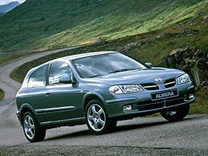 Технические характеристики Nissan Almera 1.8 2000-2002 г.