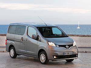 Технические характеристики Nissan Evalia