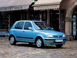 Технические характеристики Nissan March 1.3 1992-2003 г.