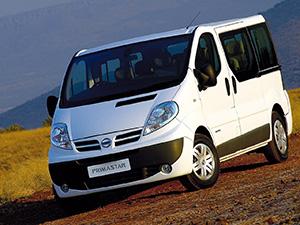 Технические характеристики Nissan Primastar