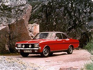 Opel Commodore 2 дв. седан (A)