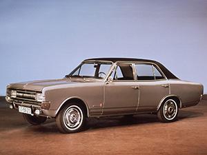 Opel Commodore 4 дв. седан (A)
