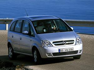 Opel Meriva 5 дв. минивэн (A)