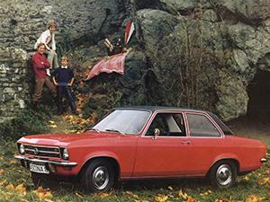 Opel Ascona 2 дв. седан (A)