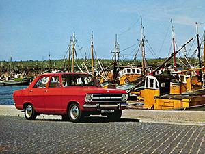 Opel Kadett 4 дв. седан (B)