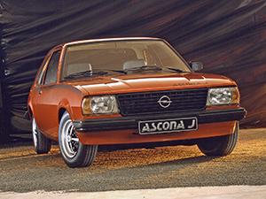 Opel Ascona 2 дв. седан (B)
