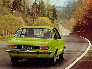 Opel Kadett 2 дв. купе (C)