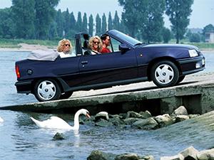 Opel Kadett 2 дв. кабриолет Cabrio (E)