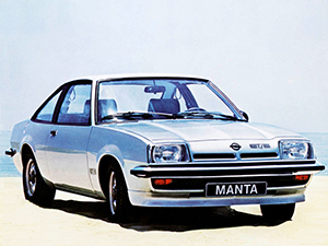 Opel Manta 3 дв. купе CC