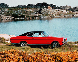 Opel Commodore 2 дв. купе (A)