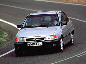Opel Astra 4 дв. седан (F)